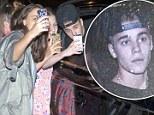 Fans snap photos with Justin Bieber in Brisbane