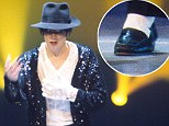 Moonwalk like the King of Pop! Pair of Michael Jackson's concert-worn loafers go on the auction block
