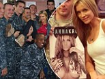 'Tis the season! Joanna Krupa brought some Christmas cheer with signed 2014 calendars to troops at the Greater Jacksonville Area USO in Florida over the weekend