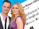 LeAnn Rimes laughs off 'chubby' Twitter insult... but enrages ex husband Dean Sheremet by ignoring 'gay dude' joke