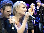 Blake Shelton duets with his wife in tribute concert for country music legend George Jones