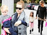 Simply bow-tiful! Sarah Michelle Gellar and Amy Adams dress their daughters in pretty pink ribbons for day out