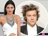 'We're friends!' Kendall Jenner denies she's dating One Direction's Harry Styles as she arrives to watch him perform at the AMAs
