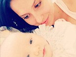 Hilaria Baldwin gazes adoringly at baby Carmen as she marks her daughter's three-month birthday