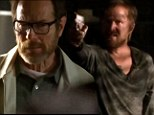 'I guess there won't be a sequel!' Bryan Cranston and Aaron Paul are stunned as they read Breaking Bad finale script in new behind-the-scenes footage
