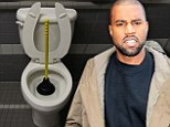 For the man who has everything... Zappos creates a $100,000 toilet for Kanye West in response to his 's**t' product accusations