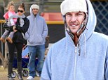 He needs extra padding now! Kevin Federline wears bulky layers at sons' soccer game after recent weight loss