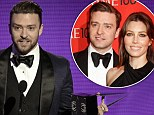 'Calm down, Internet'! Jessica Biel tweets she's watching husband Justin Timberlake on the AMAs from home