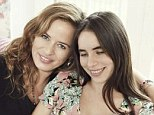 Mother and daughter: Jade Jagger (left) and daughter Assisi appear in this week's Hello! Magazine, talking about Assisi's first child