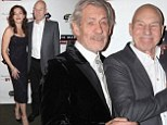 Ian McKellen and Patrick Stewart continue their bromance on Broadway in two dark plays as the Star Trek star's wife Sunny Ozell supports her leading men
