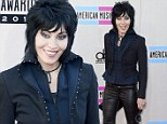 The Light Of Day holds no fears for ageless Joan Jett as she wows in leather trousers at AMAs