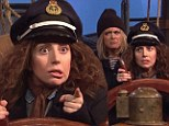 Female Sea Captains! Lady Gaga's missing sketch on SNL gets a second look after being thrown overboard