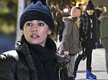 She turned 34 this weekend and Kelly Brook hosted a celebrity charged birthday party on Saturday night before taking to the ice rink at Winter Wonderland
