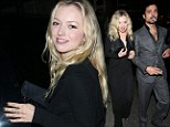 Where's your husband AND your ring? Francesca Eastwood enjoys dinner out with a mystery man