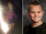 A photograph of a young girl appears to show her dead cousin standing behind her. The image has given comfort to a father who lost his son in the Moore, OK tornado in May.