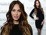 Foxy mama! Megan Fox shows off her blossoming seven-month baby bump as she hits the red carpet in figure-hugging LBD