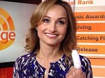 Giada De Laurentiis said she had blood pouring 'everywhere' after she cut her finger during a live Thanksgiving special Saturday on the Food Network