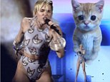 LOS ANGELES, CA - NOVEMBER 24: Singer Miley Cyrus performs onstage during the 2013 America