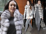 Tamara Ecclestone steps out in London on Monday afternoon