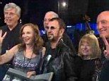 Finally reunited: Teen dreams of 1964 Beatlemania have been revisited for six fans who met Ringo Starr on the Today programme