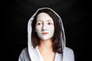 Woman Portrait Facemask