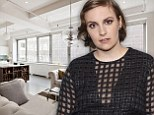 Live like one of the 'Girls': Lena Dunham's parents selling their $6.25million apartment where she shot her breakout film