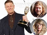 Game of Thrones star Sean Bean named Best Actor at International Emmy Awards for portrayal of transvestite in The Accused