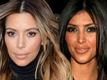 Just how has Kim Kardashian transformed her face? Reality star, 33, is completely void of any wrinkles as she reveals her suspiciously tight visage