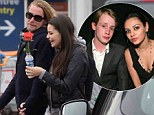 Macaulay Culkin holds hands with mystery brunette in Paris... and she's the spitting image of his ex-girlfriend Mila Kunis