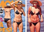 'You are a disgrace': Lara Bingle lashes out at Australian magazine as she accuses them of Photoshopping cellulite on old bikini photos of her