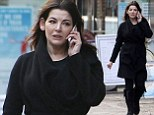 Pale Nigella Lawson cuts a lonely figure in an all-black outfit as her stressful year catches up with her