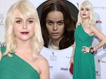 Platinum is the new fabulous! Orange Is the New Black star Taryn Manning transforms from a jumpsuit jailbird to blonde beauty for the International Emmys red carpet