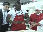 You have to break an egg: To make an omelette... The forward showed his usual control when starting off