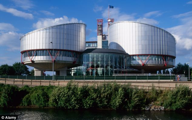 Warning: Europe's most senior human rights official said that the European Court of Human Rights, pictured, must be obeyed