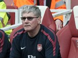 Partnership: Pat Rice was assistant manager at Arsenal under Arsene Wenger