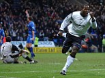 Premier League: Delroy Facey celebrates scoring in the top flight for Bolton in 2003
