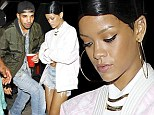From one ex to the next: Rihanna sparks speculation she's back on with rapper Drake as pair party together AGAIN at nightclub