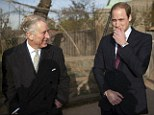 William shared a joke with his father Prince Charles while on a visit to London zoo to launch the new project aimed at protecting some of the world's most vulnerable animals