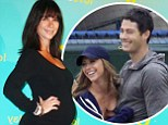 It's a girl! Jennifer Love Hewitt gives birth as it emerges she has secretly married her baby daddy Brian Hallisay