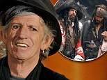 EXCLUSIVE: Keith Richards to return as Johnny Depp's swashbuckling dad in next Pirates Of The Caribbean film... and Christopher Waltz may play the villain