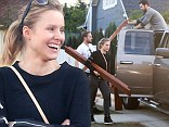 Kristen Bell buys a second hand bed