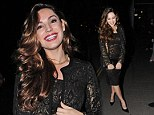 Kelly Brook attends two parties in one night on Tuesday