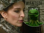 Tina Fey plays nasty Russian prison guard who throws poor Kermit in jail in star-studded Muppets Most Wanted trailer