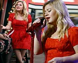 'It's all day and all night': Pregnant Kelly Clarkson on struggling with morning sickness... and admits she has already picked out her baby's name