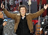 Don't look now, Kendall: One Direction lothario Harry Styles tells the world he's single on Good Morning America