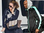 Khloe Kardashian decided to leave her wedding ring at home while arriving at a private gym. November 26, 2013 X17online.com