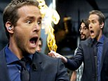 Some like it hot! Ryan Reynolds finds himself playing with fire while visiting the set of a Spanish talk show