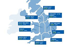 Savings: Women tend to save more than men and women in the South East save more money on average than elsewhere in the country