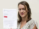 Patient: Laura Shannon with the email she received from Santander