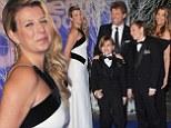Jon Bon Jovi and his family attend the Centrepoint Winter Whites Gala